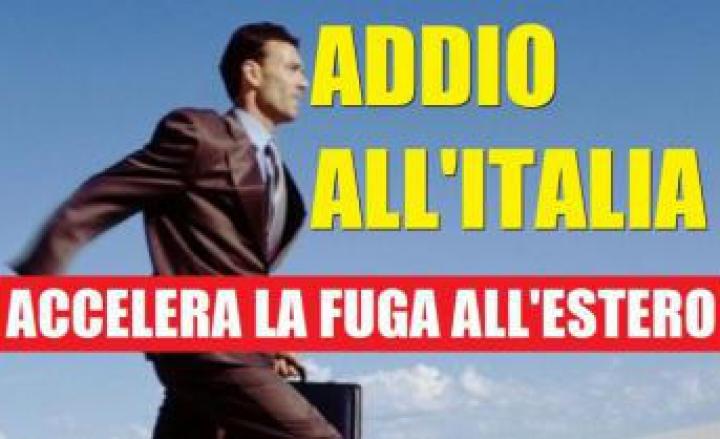 I  TALENTI  VANNO VIA DALL'ITALIA