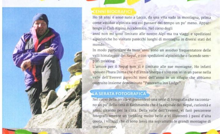 La Terra Degli Sherpa.Resegone Online Notizie Da Lecco E Provincia Gamma Una Serata