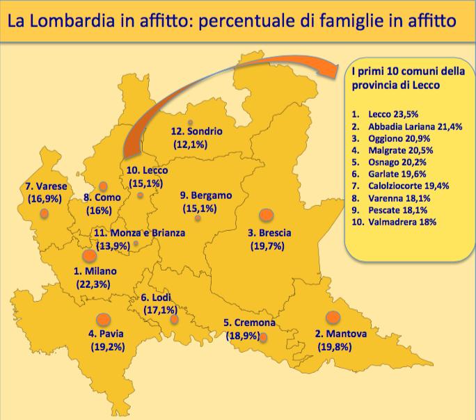 Resegone online notizie da lecco e provincia a lecco for Affitti da privati bergamo e provincia