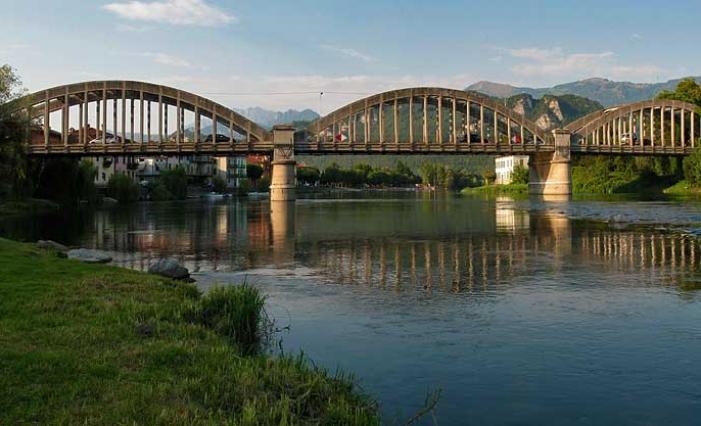 Resegone online notizie da lecco e provincia ponte di for Piani di fondazione del ponte